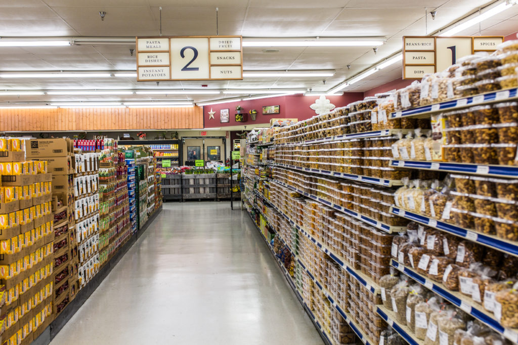 bulk grocery stores